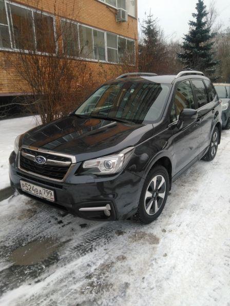 Subaru Forester 2016 - отзыв владельца