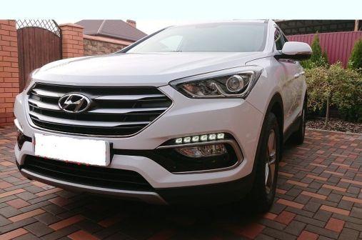 Hyundai Santa Fe 2017 - отзыв владельца