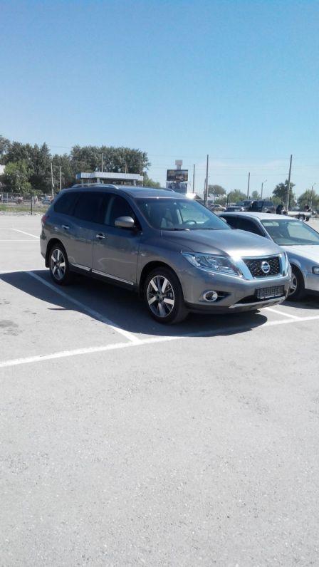 Nissan Pathfinder 2016 - отзыв владельца