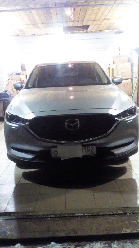 Mazda CX-5 2017 - отзыв владельца