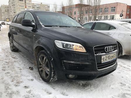 Audi Q7 2009 - отзыв владельца