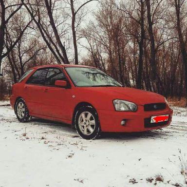 Subaru Impreza 2003 отзыв автора   Дата публикации 24.12.2017.