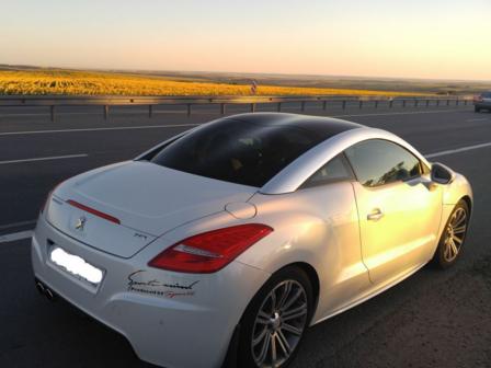 Peugeot RCZ 2013 - отзыв владельца