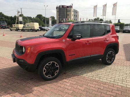 Jeep Renegade 2017 - отзыв владельца
