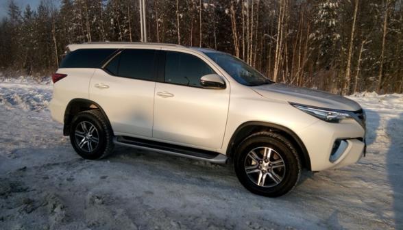 Toyota Fortuner 2017 - отзыв владельца