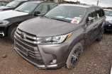 Toyota Highlander. ТЕМНО-СЕРЫЙ МЕТАЛЛИК (1H1)