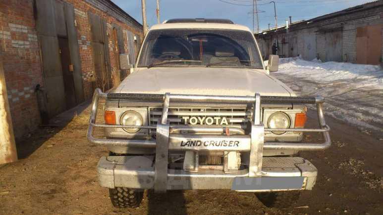 Toyota Land Cruiser, 1988 год, 170 000 руб.