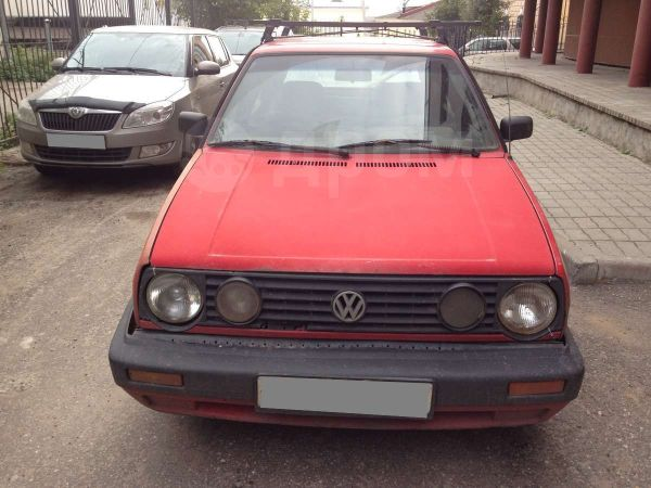 Volkswagen Golf, 1990 год, 27 000 руб.