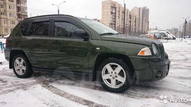 Jeep Compass, 2007 год, 690 000 руб.
