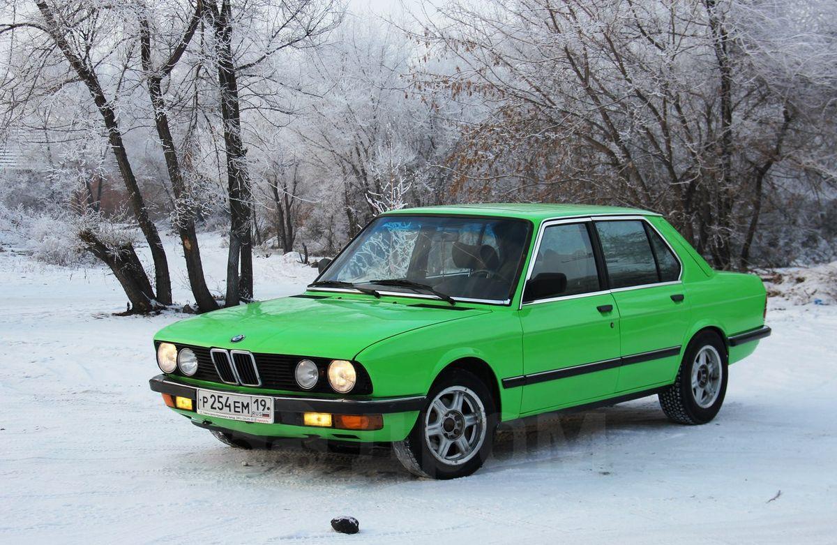 BMW 5 Series 1983 bmw 5 series Купить авто BMW 5-Series 1983 в Абакане, Цена в обмен как и у всех ...