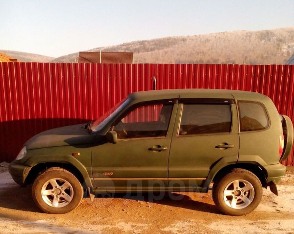 Chevrolet Niva, 2003 год, 164 000 руб.