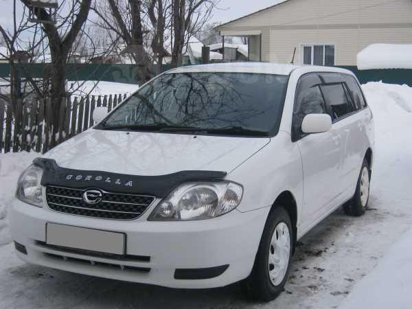 Toyota Corolla Fielder, 2001 год, 340 000 руб.