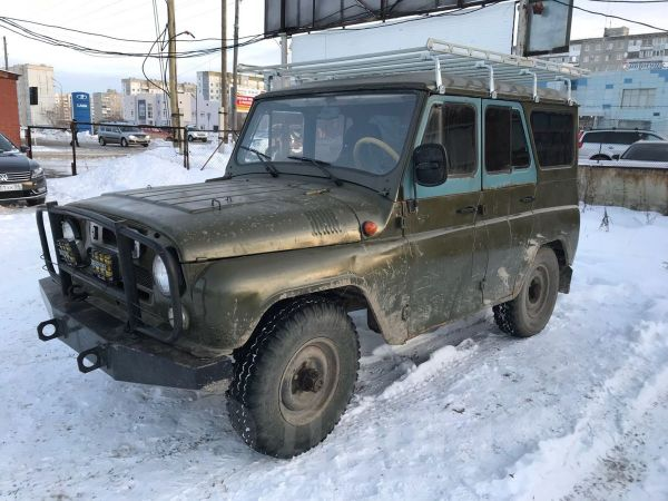 УАЗ 3151, 1998 год, 60 000 руб.