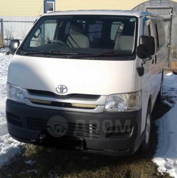 Toyota Hiace, 2009 год, 1 300 000 руб.