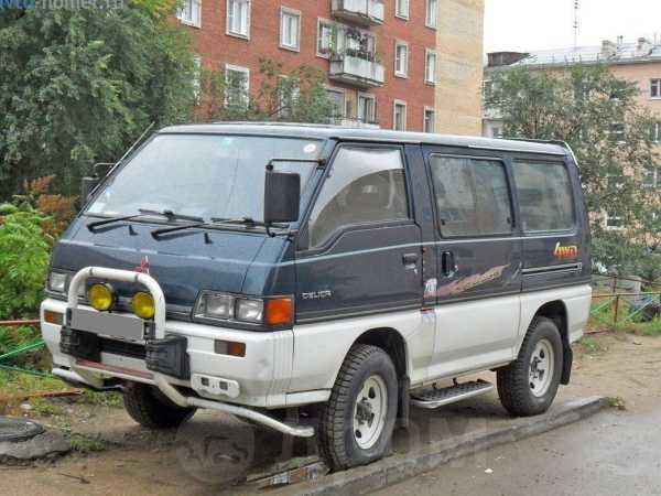 Mitsubishi Delica, 1989 год, 230 000 руб.