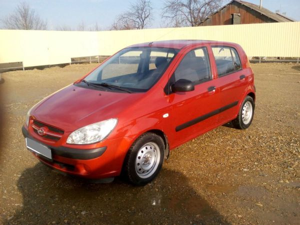 Hyundai Getz, 2008 год, 268 000 руб.