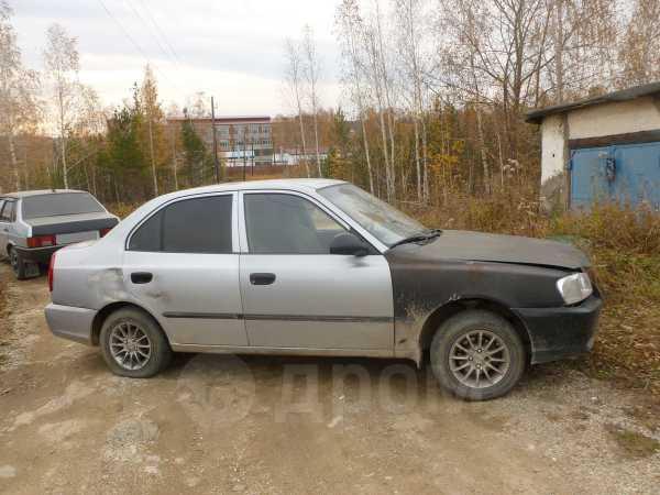 Hyundai Accent, 2004 год, 110 000 руб.