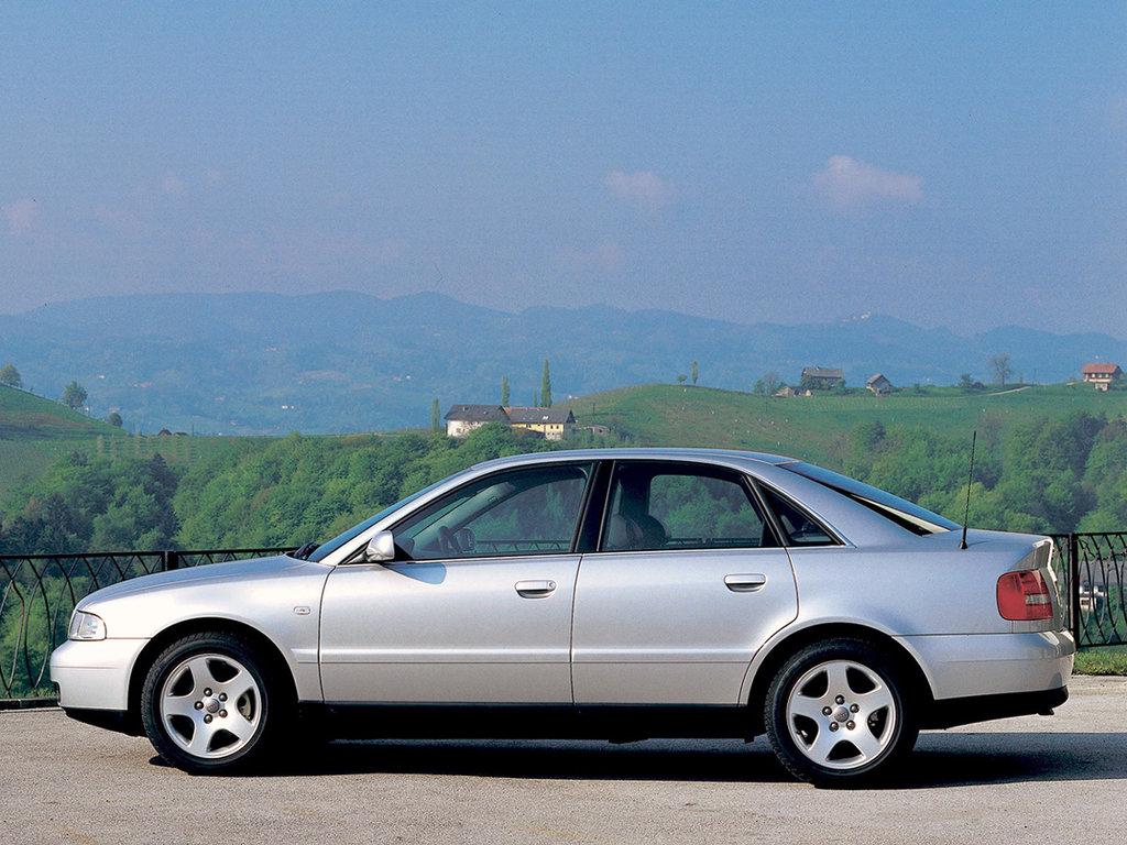 Audi A4 рестайлинг 1996 1997 1998 1999 седан 1 поколение B5