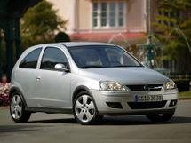 Opel Corsa рестайлинг, 3 поколение, 08.2003 - 10.2006, Хэтчбек 3 дв.