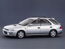 Subaru Impreza WRX 1993, универсал, 1 поколение, GF