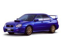 Subaru Impreza WRX STI рестайлинг 2002, седан, 2 поколение, GD
