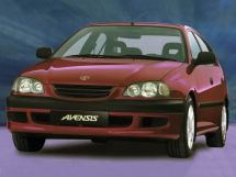 Toyota Avensis 1997, седан, 1 поколение, T220