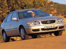 Toyota Corolla рестайлинг, 8 поколение, 01.1999 - 12.2001, Хэтчбек 5 дв.