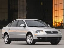 Volkswagen Passat рестайлинг, 5 поколение, 10.2000 - 02.2005, Седан