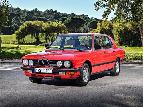 BMW 5-Series 1981 - 1987