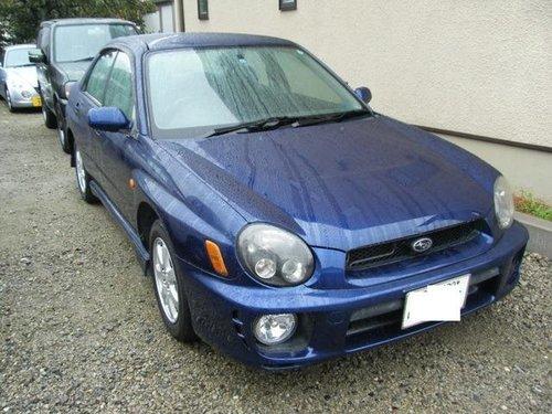 Subaru Impreza WRX 2000 - 2002