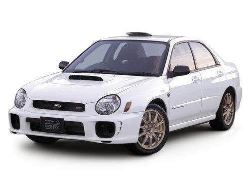 Subaru Impreza WRX STI 2000 - 2002