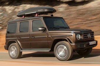 Гелендваген поколения W464 получил совершенно новый кузов.