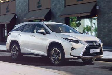 Удлиненный Lexus RX будет стоить от 3,8 млн рублей