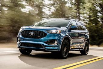 Продажи обновленного Ford Edge в Северной Америке стартуют вскоре после презентации в Детройте.