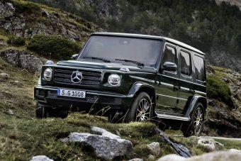 Продажи нового Гелендвагена в Европе стартуют в июне.