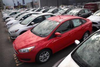 процент автомобилей купленных в кредит
