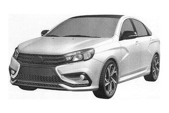 Производство Lada Vesta Sport должно начаться в феврале.