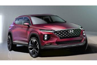 Презентация нового Hyundai Santa Fe состоится в марте.