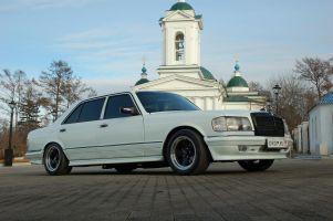 Народное ретро. Mercedes-Benz 280 SEL W126 1983года. Остаться собой!