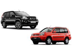 Nissan X-Trail первых двух поколений (2000–2015 гг.). Неженка