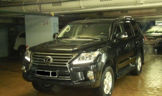 Lexus LX570 2012 - отзыв владельца
