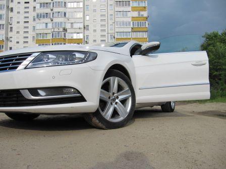 Volkswagen Passat CC 2013 - отзыв владельца