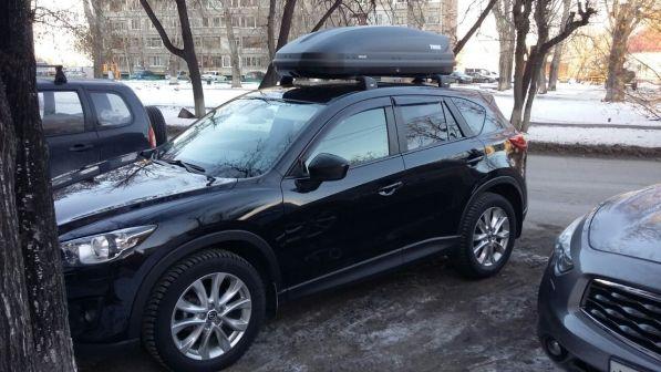 Mazda CX-5 2014 - отзыв владельца