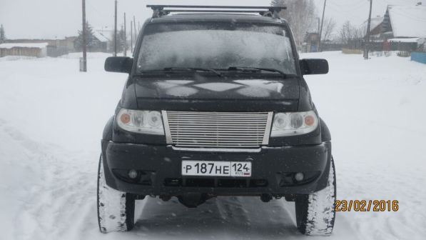 УАЗ Патриот 2008 - отзыв владельца