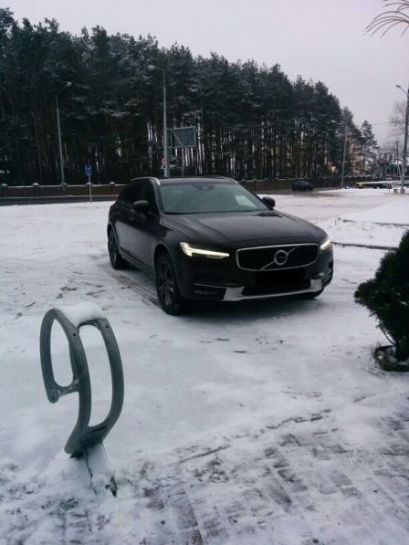 Volvo V90 2017 - отзыв владельца