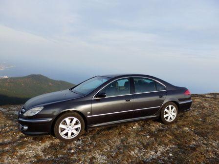 Peugeot 607 2006 - отзыв владельца