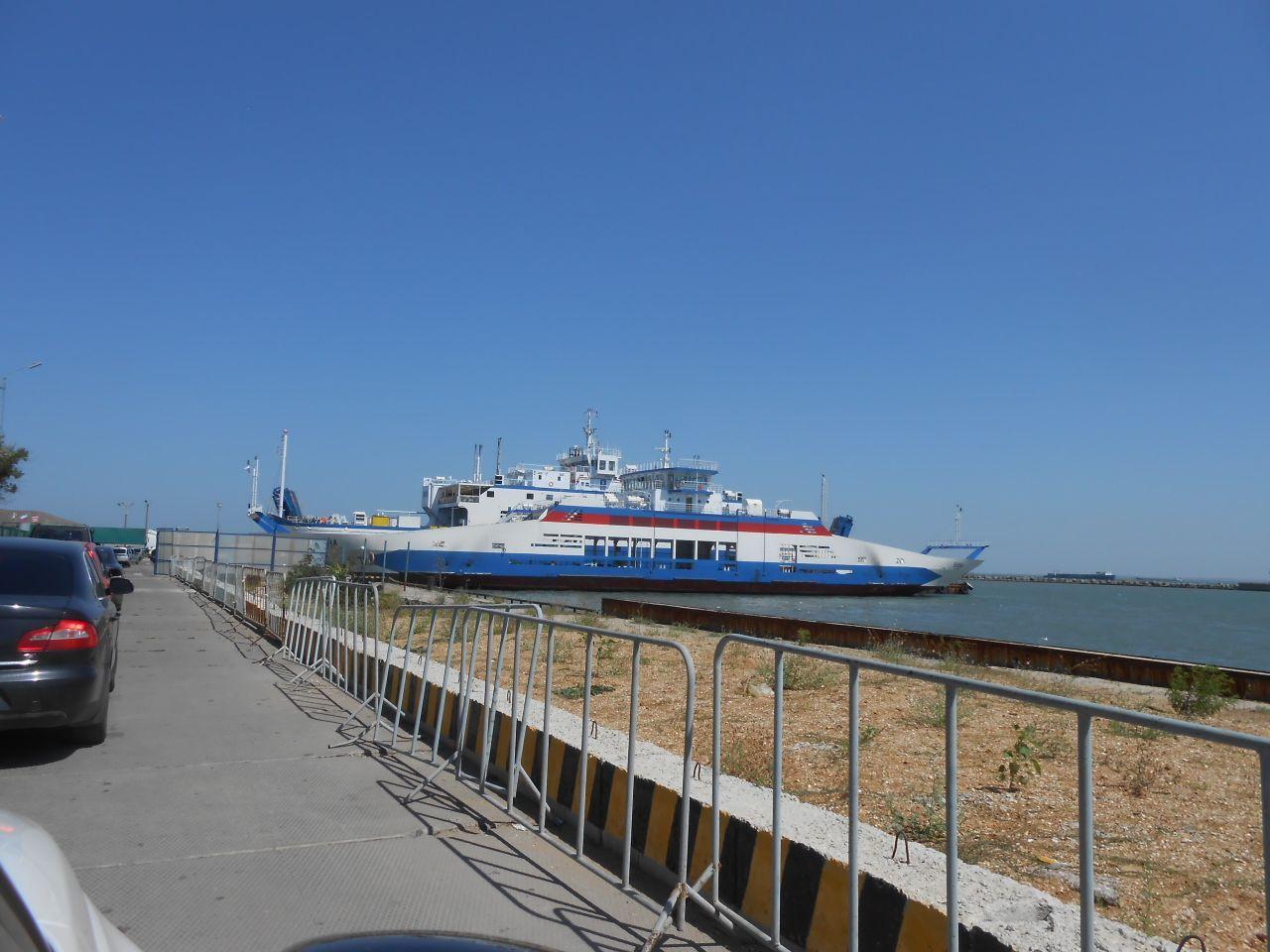 Порт Керчь, назад домой!