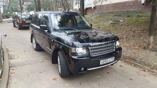 Land Rover Range Rover 2012 - отзыв владельца