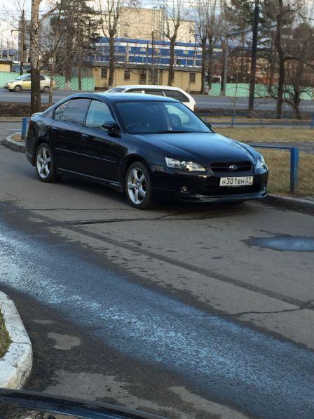 Subaru Legacy B4 2005 - отзыв владельца