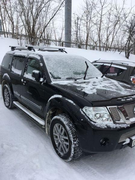 Nissan Pathfinder 2013 - отзыв владельца